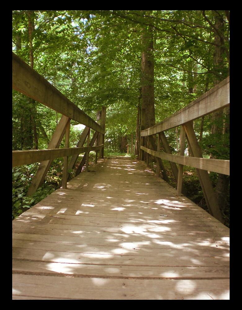 Wooden Bridge by MaryHelen