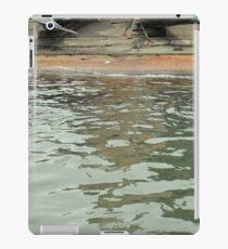 Gondolas on the shore near the canal in Venice, Italy iPad Case/Skin