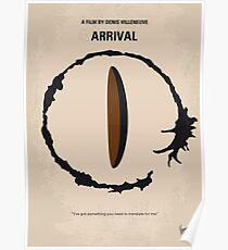 No735- Arrival minimal movie poster Poster