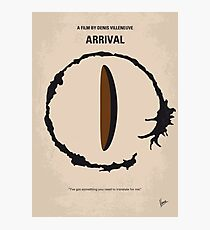 No735- Arrival minimal movie poster Photographic Print