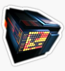 Tech Cube.0 Sticker