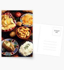 Kartoffel Lebensmittel Postkarten