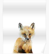 Kleiner Fuchs Poster