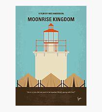Lámina fotográfica No760- Moonrise Kingdom cartel de película minimalista