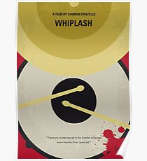 No761- Whiplash minimal movie poster Poster