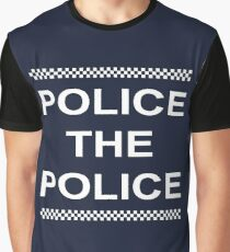Police the Police Graphic T-Shirt