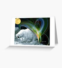 ~ AURORA  POLARIS ~ Greeting Card