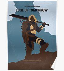 No790- Edge of Tomorrow minimal movie poster Poster