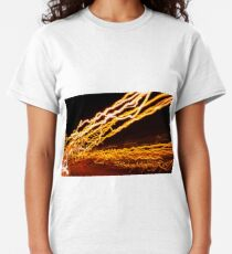Shooting sparks of light Classic T-Shirt