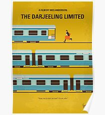 No800- The Darjeeling Limited minimal movie poster Poster
