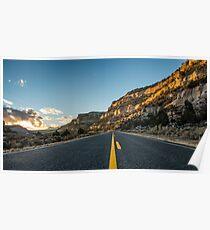 Route 12 - Escalante, Utah Poster