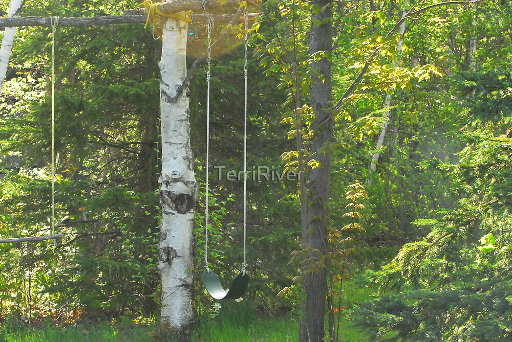 """My """"Thinkng Swing"""" :) by TerriRiver"""