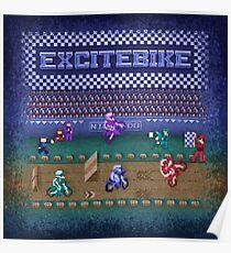 Fahrrad Excite Poster