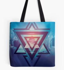 City Shapes Tote Bag