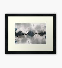 n°322: Mountain view part 2 Framed Print