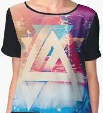 City of Lights Women's Chiffon Top
