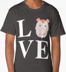 Hamster Love Long T-Shirt