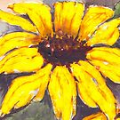 Sunflower, bright and cheery by Maree Clarkson
