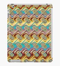 computer generated fractal pattern iPad Case/Skin
