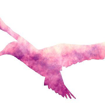 Hummingbird (Pink) by becSamways