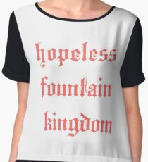 halsey - hopeless fountain kingdom Women's Chiffon Top