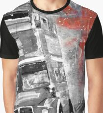 LONDON BUS by Nibs Gallery RED Graphic T-Shirt