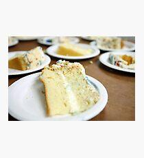 Cake Slices Photographic Print