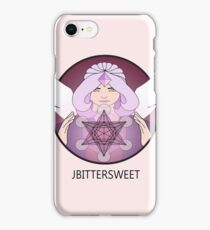Archangel Metatron' Cube of the Flower of Life (Sacred Geometry) iPhone Case/Skin