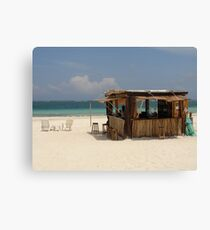 The Beach Bar Canvas Print