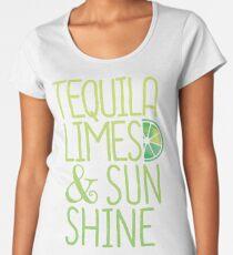 Tequila Limes & Sunshine T-shirt Women's Premium T-Shirt