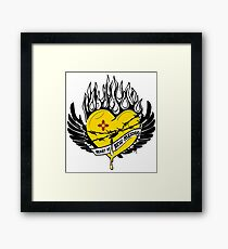 Heart of New Mexico Framed Print