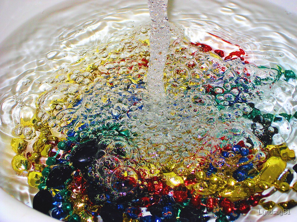 Rainbow of Bubbles!!! by Lyndsay81