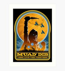Dune MUAD' DIB Art Print