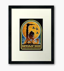 Dune MUAD' DIB Framed Print