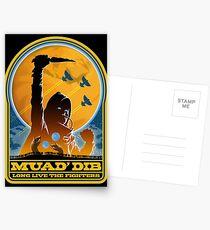 Dune MUAD' DIB Postcards