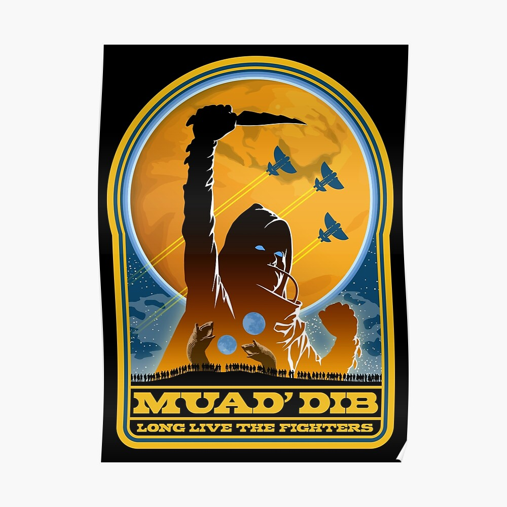 Düne MUAD 'DIB Poster