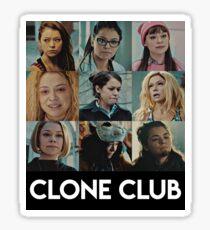 Clone Club Sticker