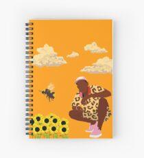 Tyler, der Schöpfer - Blumenjunge Spiralblock