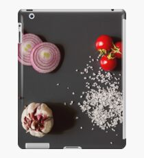 Raw vegetables for healthily cooking iPad Case/Skin