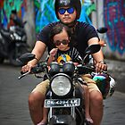 Bali 2017 #13 ... Cool Dude Riding by Malcolm Heberle