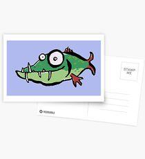A not so pretty fish Postcards