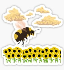 Flower Boy - Bee Sticker