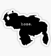Map Home Sticker