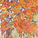Autumn sketch by Maree Clarkson