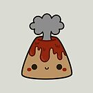 Cute volcano by peppermintpopuk