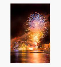 Fiesta ends with a bang Photographic Print