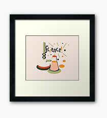 Bunsen and Beaker Framed Print