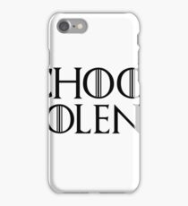 Game of Thrones - I choose violence, Cersei Lannister iPhone Case/Skin