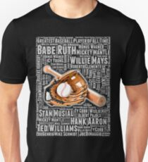 GREATEST BASEBALL PLAYER OF ALL TIME Unisex T-Shirt