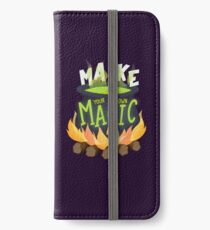 Make your own magic iPhone Wallet/Case/Skin